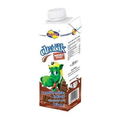 Picture of MILK FLAVORED DRAGON CHOCOLATE 250ml (box*27)