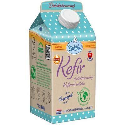 Picture of KEFIR 1.1% DELAKTO 450g ELO GRANDMA (box*8)