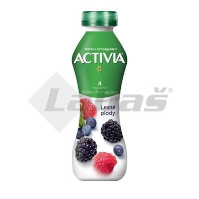 Picture of DRIVE ACTIVIA FOREST FRUITS 310g DANONE (box*8)