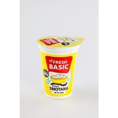 Picture of SOUR CREAM 16% 200g FRESH BASIC GEMER (box*20)