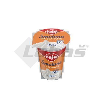 Picture of WHIPPING CREAM 33% 180ml RAJO