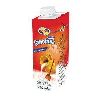 Picture of COOKING CREAM TRV. 12% 250ml TAMI (box*27)