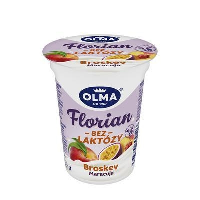 Picture of FLORIAN YOGHURT WITHOUT LACTOSE PEACH AND MARACUJA 150g OLMA