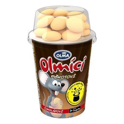 Picture of YOGHURT OLMÍCI PISKOT CHOCOLATE 113 g OLMA
