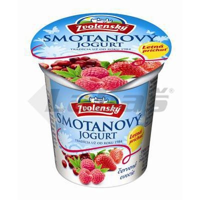 Picture of CREAM YOGHURT RED FRUIT 145g ELECTED