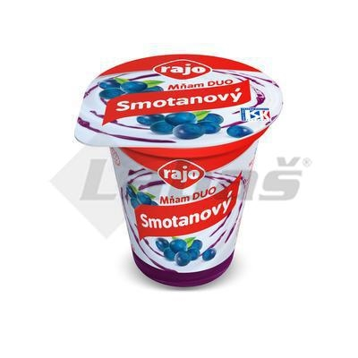 Picture of CREAM YOGHURT BLUE 145g YOU DUO RAJO