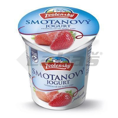 Picture of CREAM STRAWBERRY YOGHURT 145g SELECTED