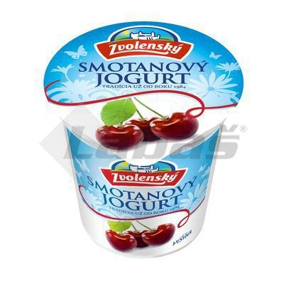 Picture of CREAM YOGHURT CHERRY 145g ELECTED