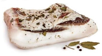 Picture of SOLVIND - Salted iberian pork fat with laurel ~300g £/kg