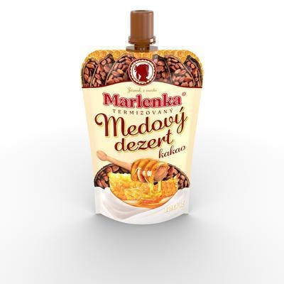 Picture of MARLENKA DESSERT THERMIZED HONEY WITH COCOA 120g