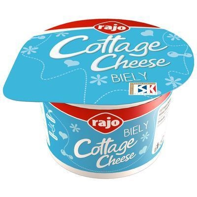 Picture of CHEESE COTTAGE CHEESE FRESH. 180g WHITE RAJO