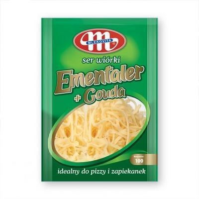 Picture of EMENTALER + GOUDA CHEESE CHEESE 100g MILK