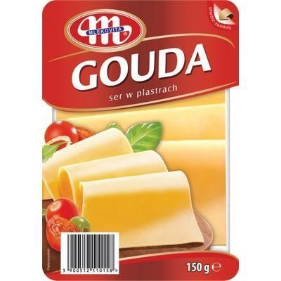 Picture of GOUDA CHEESE CHEESE 150g MILK