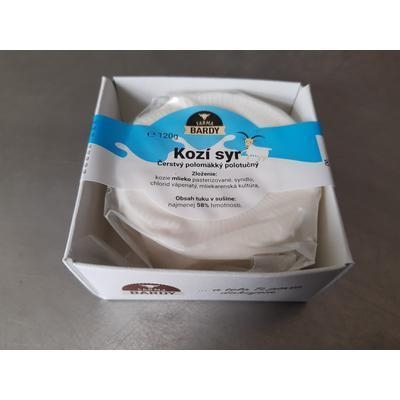 Picture of FRESH SEMI-SOFT GOAT CHEESE 120g BARDY