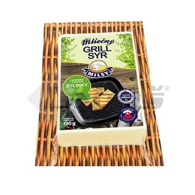 Picture of MILK GRILL CHEESE IN HERBAL MARINADE 185g MILSY