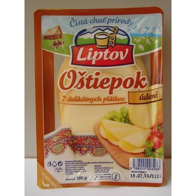Picture of CHEESE SPINDLE SLICS SMOKED 100g LIPTOV