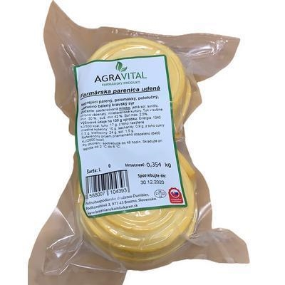 Picture of SMOKED PARENICA CHEESE approx. 300g / WEIGHT / FROM HOREHRONIA