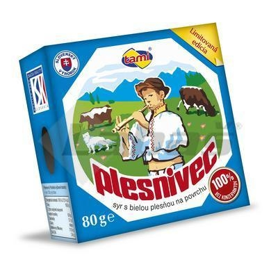 Picture of PLESNIVEC CHEESE 80g TAMI