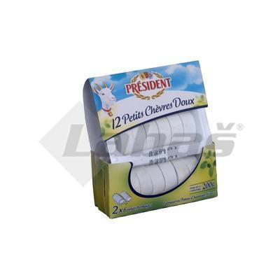 Picture of GOAT PRESIDENT CHEESE LE PALET DE CHEVRES NATURAL 200g