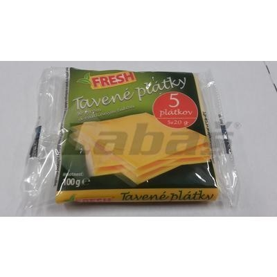 Picture of CHEESE MELT SLICES WITH CHEESE AND GROWTH. FAT 100g FRESH