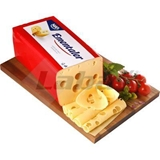 Picture of BRICK EMENTAL CHEESE NIKA approx. 3.7 kg / WEIGHT /