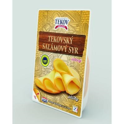 Picture of TEKOV CHEESE SLICES 100g SMOKED LEVICE ML.