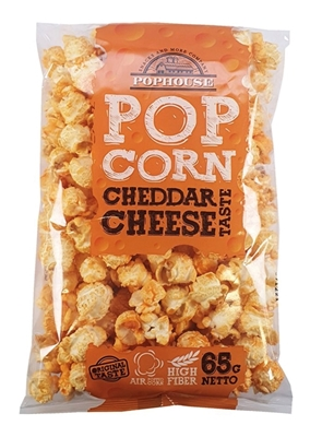 Picture of SNACK GENERATION - Popcorn with chedder cheese 65g (box*24)