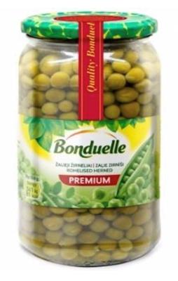 Picture of Bonduelle - Green peas 660g (box*6)