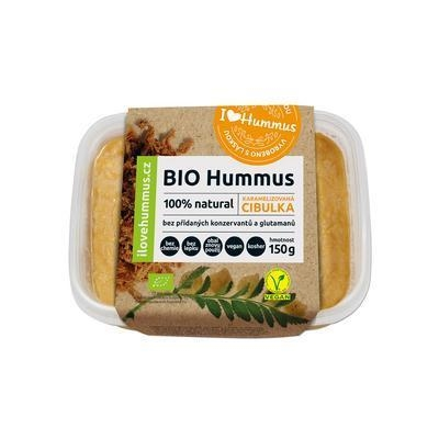 Picture of BIO HUMMUS SPRAY CARAMELISED ONION 150g GLUTEN - FREE