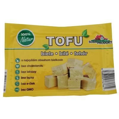 Picture of TOFU WHITE 200g SOY PRODUCT GLUTEN FREE