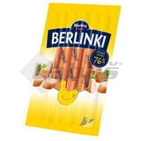 Picture of BERLINKI CHICKEN SAUSAGES 250g VB MORLINY 84% SHARE OF MEAT