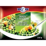 Picture of FROZED CARROT WITH PEAS 350g EQUUS