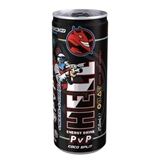 Picture of BEVERAGE ENERGY HELL GAMER PvP PITAHAYA-COCONUT 250ml SHEET METAL