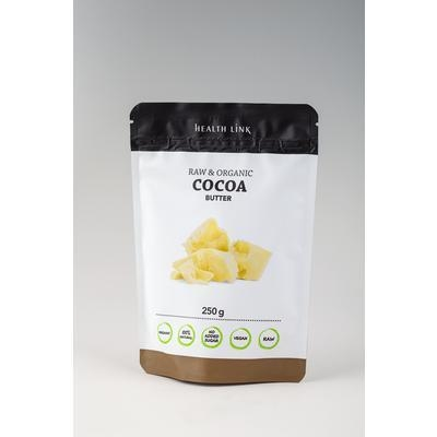 Picture of COCOA BUTTER BIO RAW 250g HEALTH LINK