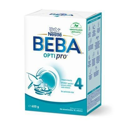 Picture of MILK DRIED BEBA FOR 4 BL LEB029A-2 2x300g NESTLÉ