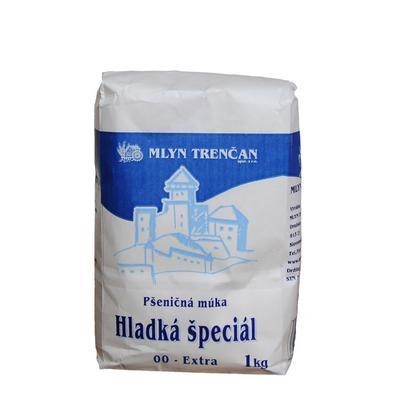Picture of SMOOTH WHEAT FLOUR SPECIAL 00 EXTRA 1kg MILL TRENČAN