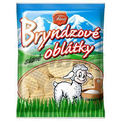 Picture of BRYND SALT WAFFLES 50g SPREADED TINA