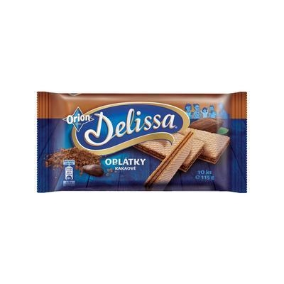 Picture of WAFFLES DELISSA COCOA 115g ORION