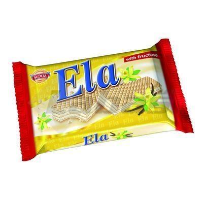 Picture of ELA VANILLA WAFFLES 40gr DIA