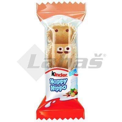 Picture of WAFFLES KINDER HAPPY HIPPO SNACK 20,5g