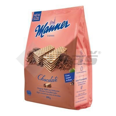 Picture of MANNER WAFFLES WITH CREAM CHOCOLATE FILLING 200g