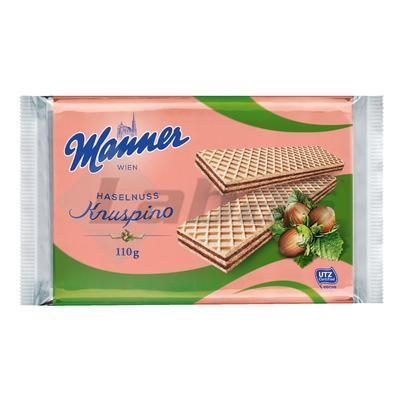 Picture of MANNER WAFFLES WITH HAZELNUT FILLING 110g