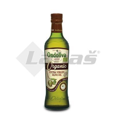 Picture of ORGANIC OLIVE OIL EXTRA VIRGIN ORGANIC 500ml ONDOLIVA GLASS