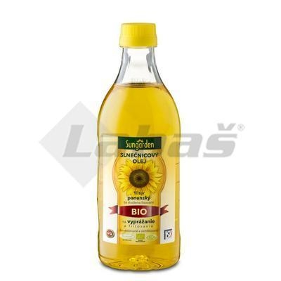 Picture of ORGANIC SUNFLOWER OIL FOR FRYING 1l PET SUNGARDEN