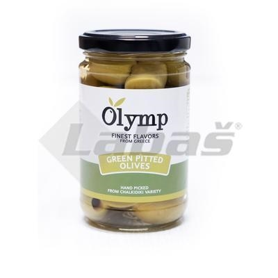 Picture of GREEN OLIVES WITHOUT DONE 300g / PP 150g ATI GLASS