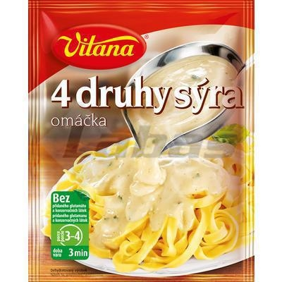 Picture of SAUCE 4 TYPES OF CHEESE 46g WELCOME FOR PASTA