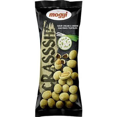 Picture of Peanuts IN CEST. ONION-CREAM 60g CRASSH MOGYI