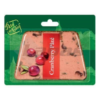 Picture of BRUSSELS PATE WITH CRANBERRIES 125g