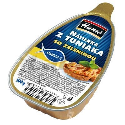 Picture of TUNA PLASTER PASTE WITH VEGETABLES 100g AL HAMÉ