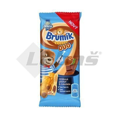 Picture of BAKE FINE BAKE BRUMÍK DUO NUTS & CHOCOLATE 30g